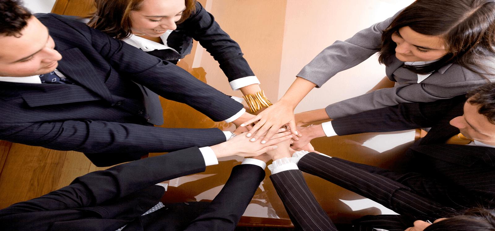 Trabajo en equipo: todos a una