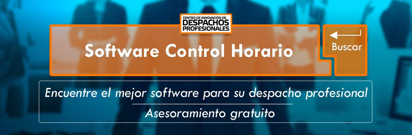 Software Control Horario