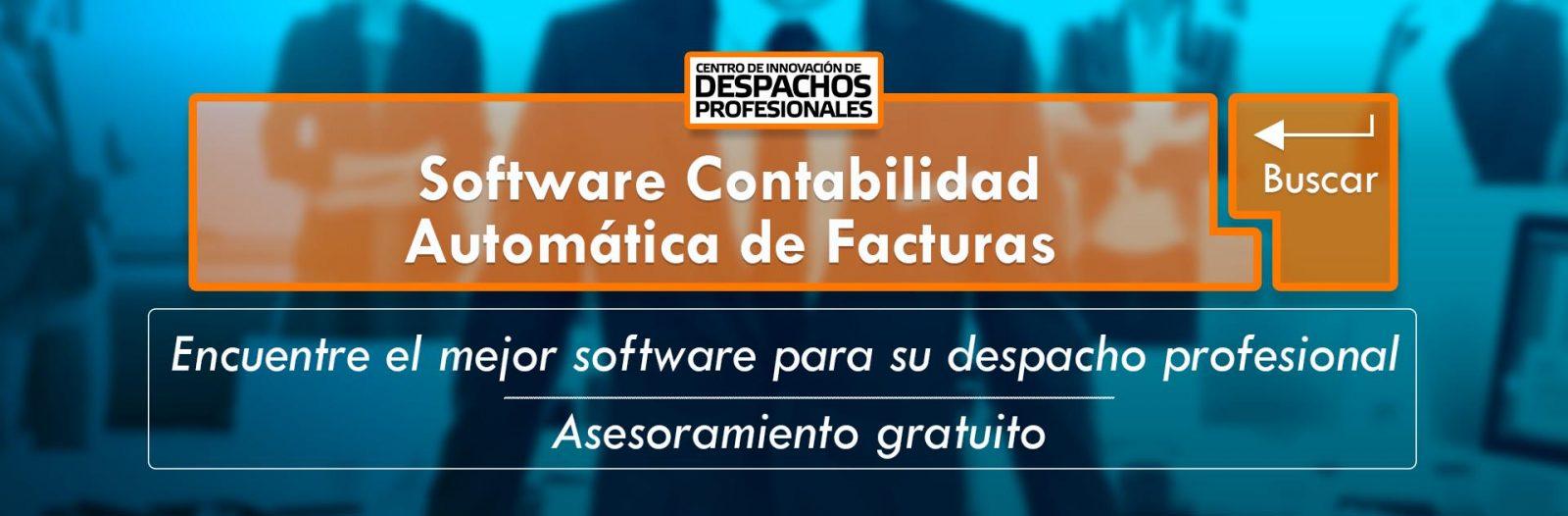 Software Contabilidad Automática de Facturas